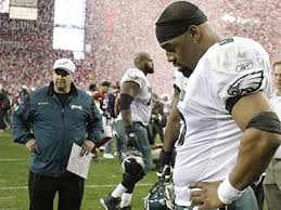 rich hofmann for the eagles in nfc chionship same story