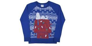 snoopy christmas sweatshirt really or really cool the christmas sweater debate of 2014