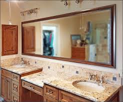 Bathroom Framed Mirrors by Framed Bathroom Mirrors How To Frame A Bathroom Mirror