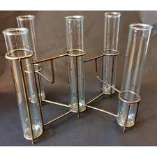 Test Tube Vase Holder Copper Test Tube Vase By House Doctor Dk