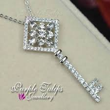 long chain key necklace images 133 best purple tulip jewellery images swarovski jpg