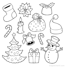 Dibujos Navideñas Para Colorear   dibujos navideños para colorear etapa infantil