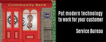 in bureau service bureau modern banking systems