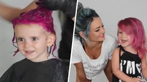 is it safe for kids to dye their hair with wild colors today com