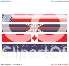 royalty free rf clipart illustration of a digital collage of