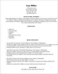 What To Put On A Babysitting Resume How Do You Put Babysitting On A Resume Resume Ideas