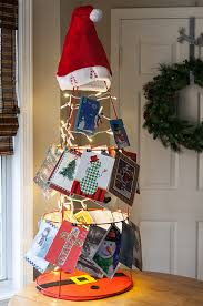 christmas holder 10 diy christmas card holders christmas lights etc