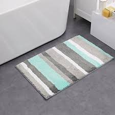 Cheap Bathroom Rugs And Mats Hebe Non Slip Bathroom Rug Mat Shag Microfiber Shower