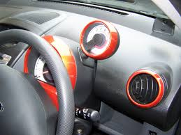 a toyota peugeot 107 colour coded air vent speedo cover and rev counter
