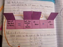 math u003d love sequences and series foldables u0026 inb pages
