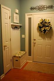 small foyer small foyer beadboard picture rail lovly little mudroom i