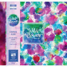 Expandable Scrapbook First Edition Wild Flower Scrapbook Album 12 X 12 Inches Hobbycraft