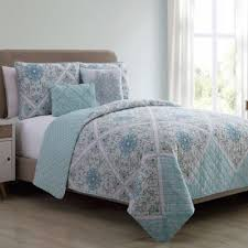 turquoise quilted coverlet buy aqua queen quilt from bed bath beyond