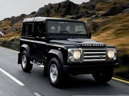 land rover black land rover defender 2014
