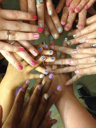 pamper me nail party with sally hansen