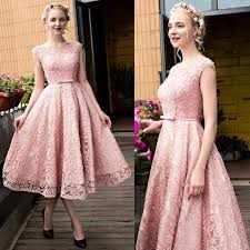 modest pink prom dresses a line short homecoming dresses scoop