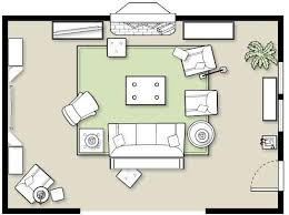 Furniture Room Layout | furniture placement in a large room furniture placement