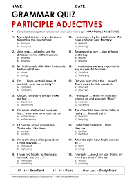 adjectives english grammar adjectives examples list best ideas of