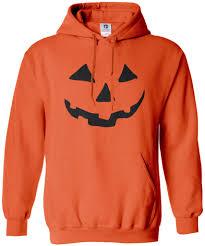 Halloween Pumpkin Origin Threadrock Men U0027s Halloween Pumpkin Face Hoodie Sweatshirt Jack O