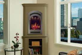 Corner Electric Fireplace Fireplaces Small Corner Electric Fireplace Tv Stand Nativefoodways