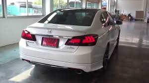 lexus is tail lights tail lamp accord g9 style ls350 review youtube