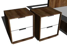ana white modern nightstands plans diy projects