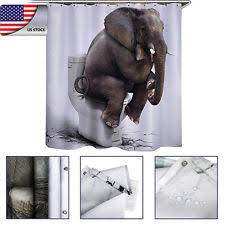 animal print extra long shower curtains ebay