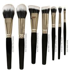 vegan brushes black faux u0026 duo fiber