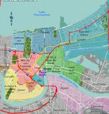 Map New Orleans French Quarter File New Orleans Districts Map Grouped Svg Wikimedia Commons
