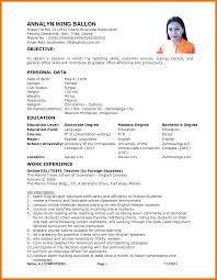Parking Attendant Resume 8 Resume With Personal Data Budget Reporting