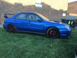 green subaru wrx low mileage subaru impreza wrx with sti styling comes with
