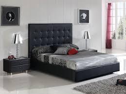 Black Leather Platform Bed Excellent Lovely Black Platform Bedroom Sets Real Black Leather