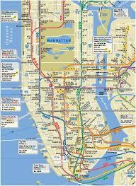 metro york map subway map of manhattan montana map