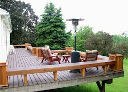 Wood Bench Plans Deck by Instead Of Rails This Is How I Should Do My New Deck Home