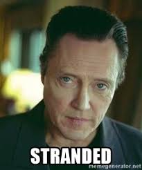 Christopher Walken Memes - stranded christopher walken meme generator