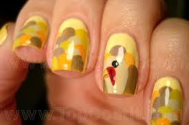 creative thanksgiving nail art deigns u0026 ideas 2013 2014