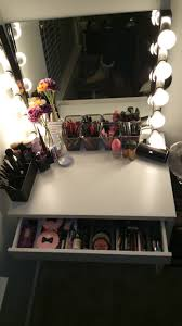Ikea Makeup Vanity by Diy Hollywood Style Makeup Vanity From Ikea Claire Bear X3
