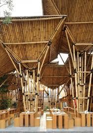 The Origami Inspired Folding Bamboo House Inhabitat Sustainable Design Innovation Eco - best 25 bamboo construction ideas on pinterest bamboo