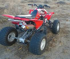 dirt wheels magazine reader u0027s rides tricked out trx450rs