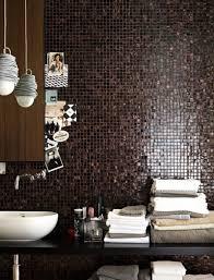badezimmer in braun mosaik modernes badezimmer braun mosaik lecker on moderne deko idee oder