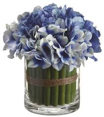 hydrangea bouquet beachcrest home hydrangea bouquet centerpiece in vase reviews
