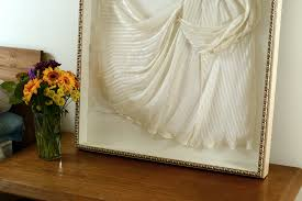 wedding dress shadow box wedding dress frame wedding corners