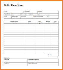 sample timesheet sow template