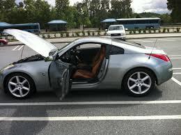 nissan 350z back seat 2003 350z silverstone with black orange brown interior seats grey