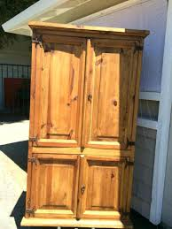 broyhill entertainment armoire wardrobe armoires solid maple wood