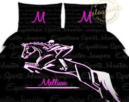 Pony Comforter Basketball Comforter Twin Queen King Purple Girls