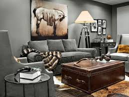 white luxury sofa and glass table in rustic living room living room living room trunk with steamer trunk lift top side