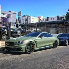 green mercedes rdbla u2013 military green wald s63 coupe mercedes rdb la five