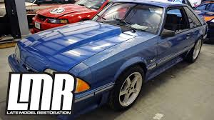 fox mustang restoration fox mustang restoration project blue collar introduction