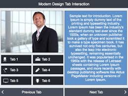 modern design tabs 2 lectora interaction